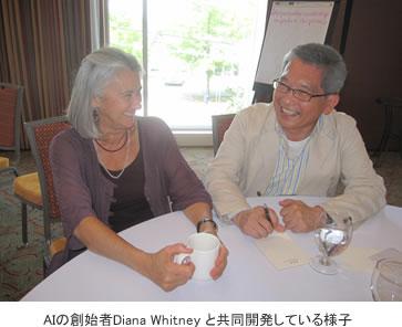 AIの創始者Diana Whitneyと共同開発
